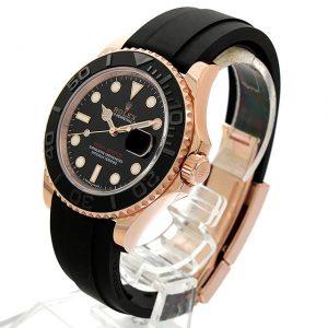 buy popular a7ede 2533c ロレックス ヨットマスターのラバーベルト | 腕時計総合情報 ...
