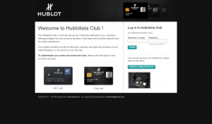 Welcome to Hublotista Club
