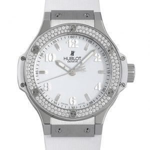 ウブロ ビッグバン スチールホワイト ダイヤモンド 361.SE.2010.RW.1104