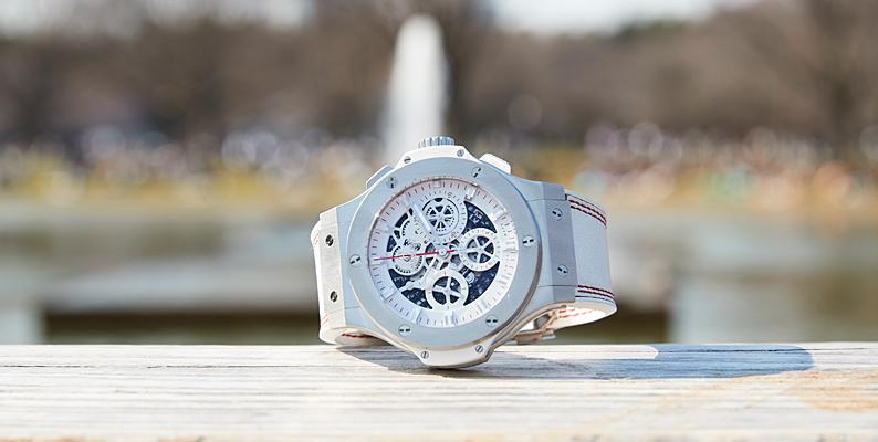 factory price 388e8 08d8f ちょい派手時計で、手元に大人の遊び心を。ウブロ「ビッグバン ...