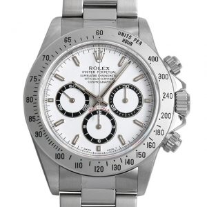 2017年 これから価格高騰しそうな高級腕時計 ロレックス 16520白