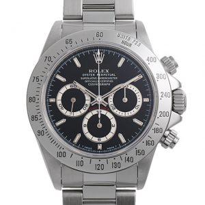 2017年 これから価格高騰しそうな高級腕時計 ロレックス 16520黒