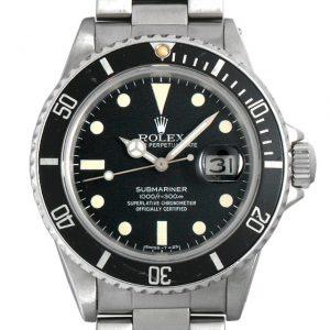 2017年 これから価格高騰しそうな高級腕時計 ロレックス サブマリーナ16800フチなし