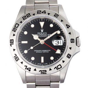 2017年 これから価格高騰しそうな高級腕時計 ロレックス 16550黒