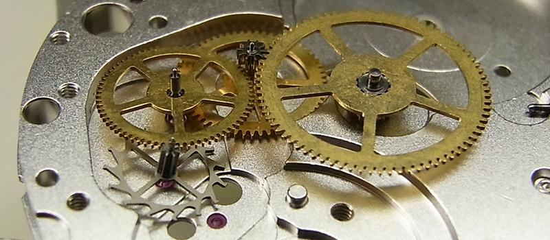 機械式ムーブメント 構造