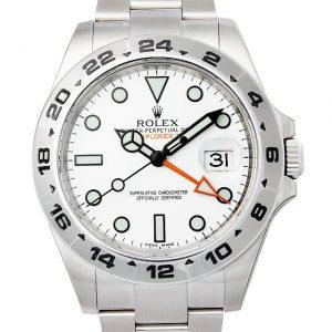 ロレックス エクスプローラーII 216570 ホワイト