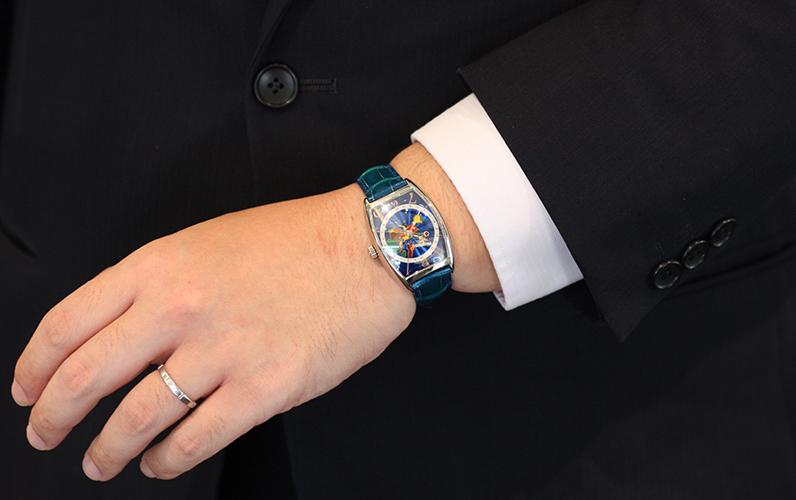 腕回り 17.5cm 腕時計