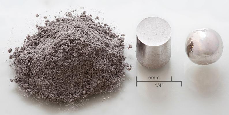 ロジウム 希少素材