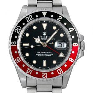 ロレックス GMTマスターII 赤黒ベゼル 16760