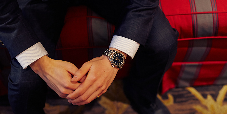 高級腕時計 スーツ