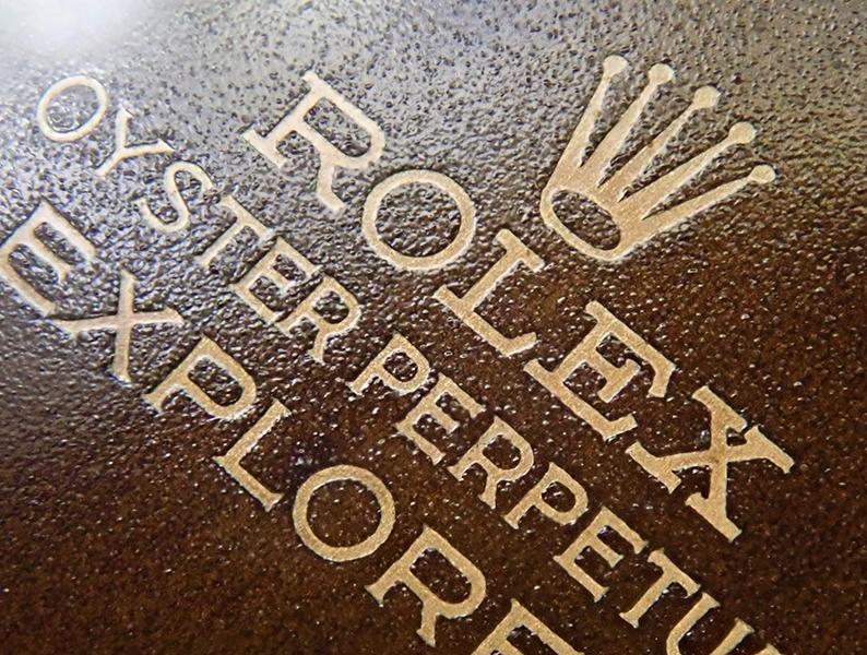 ロレックス 1016 トロピカルダイヤル ミラーダイヤル