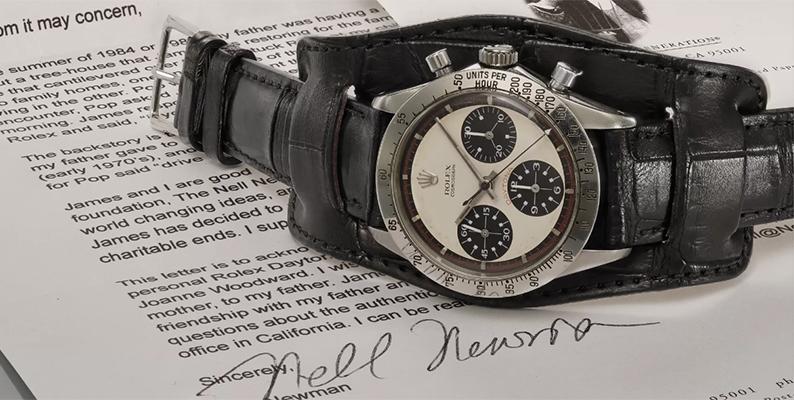 伝説のデイトナ ポールニューマンが腕時計史上最高金額20億円で落札!