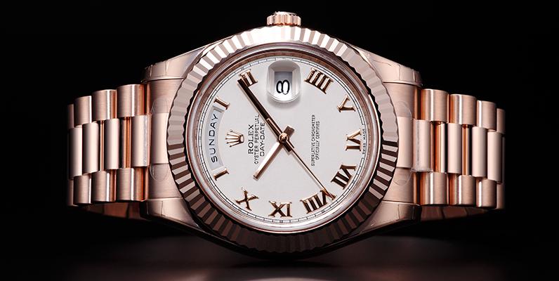成功者が身に着ける時計『ロレックス デイデイト』