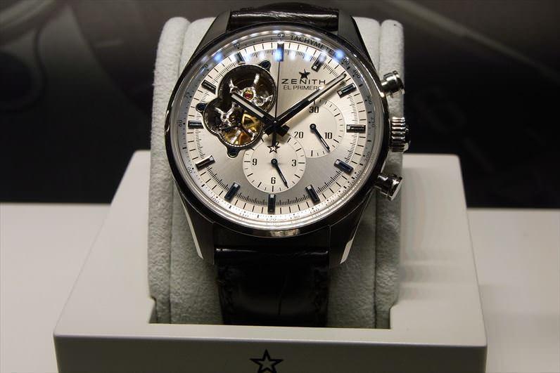 pretty nice 1f101 c93be 速報!バーゼルワールド2018 ゼニス新作モデルを発表!   腕時計 ...