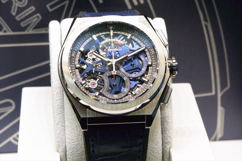 pretty nice b806a c1258 速報!バーゼルワールド2018 ゼニス新作モデルを発表! | 腕時計 ...