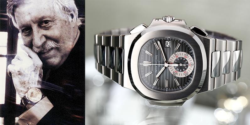 ノーチラス・ロイヤルオーク。個性的なジェラルド・ジェンタの時計