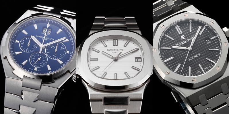 超高級時計ブランドの価格相場2021~パテックフィリップ、オーデマピゲ、ヴァシュロンコンスタンタン~
