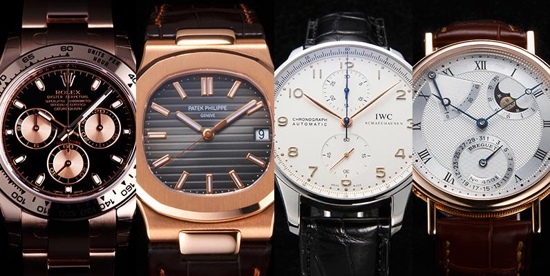高級腕時計の平均単価ってどれくらいなの?各ブランドを価格帯別にまとめてみました