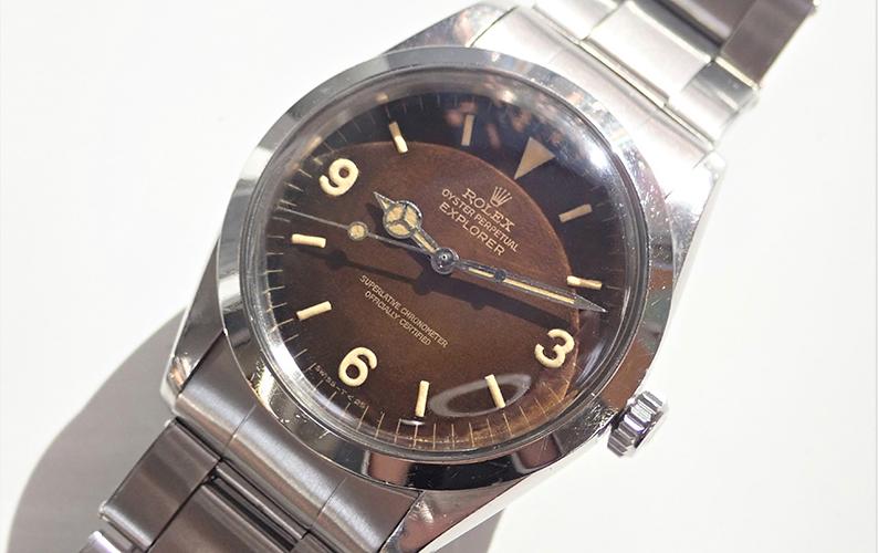 腕時計 修理 文字盤