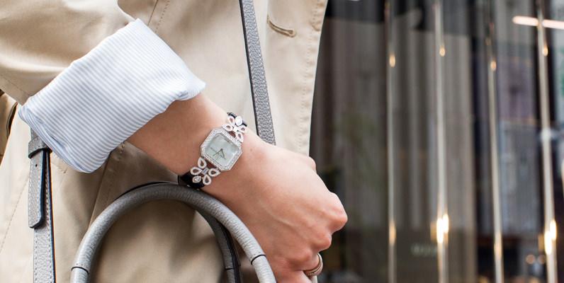 自分に似合う時計のサイズとは?時計と腕周りのバランスを写真で確認しましょう~レディース編~