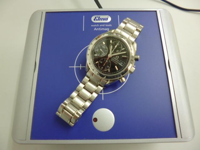 腕時計 修理 磁気抜き