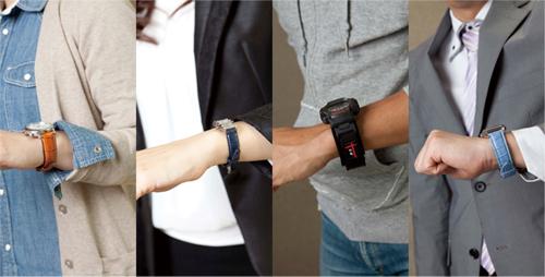 腕時計の革ベルト バンビ