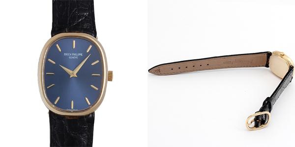 腕時計の革ベルト J.Cペラン