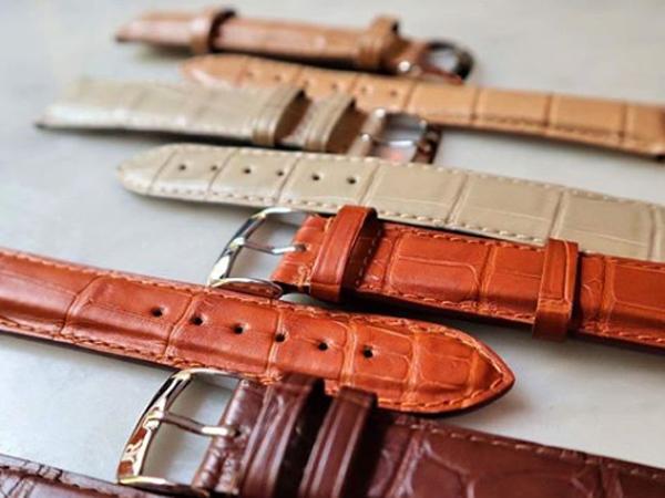腕時計の革ベルト ジャンルソー