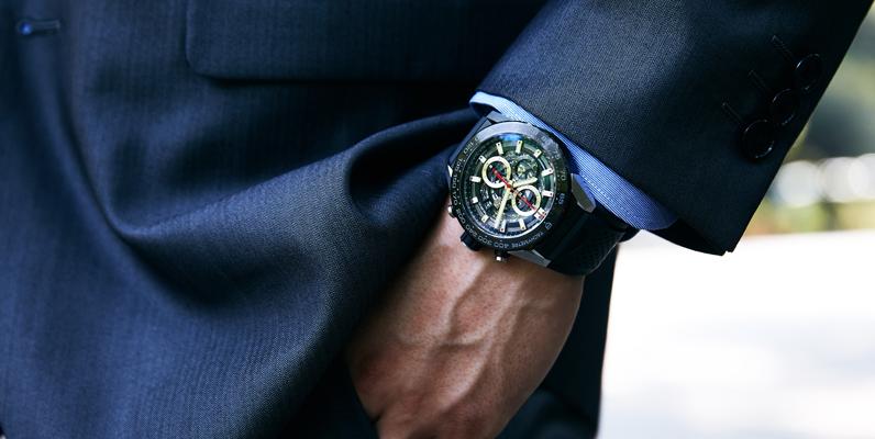 ワンランク上のタグホイヤー。30代、40代の男性にお勧めしたい時計10選