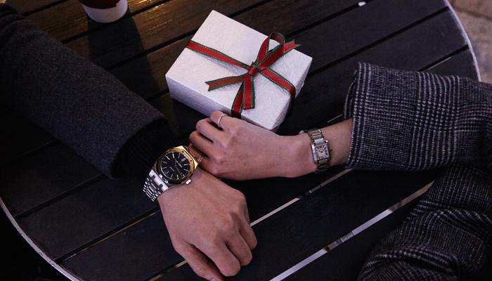 彼女からのクリスマスプレゼント 高級時計