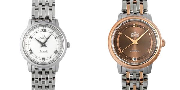 彼女へのクリスマスプレゼント 高級腕時計 オメガ デヴィル