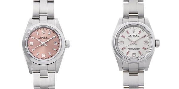 彼女へのクリスマスプレゼント 高級腕時計 オイスターパーペチュアル