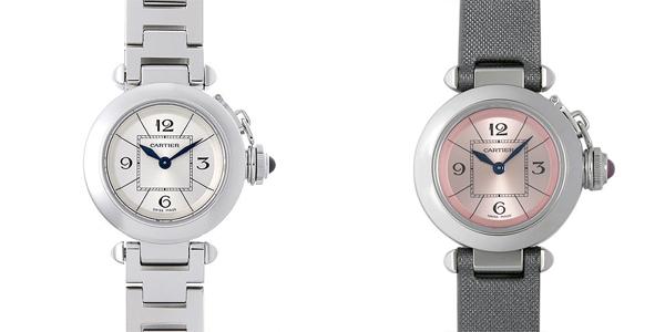 彼女へのクリスマスプレゼント 高級腕時計 カルティエ ミスパシャ
