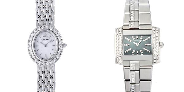 彼女へのクリスマスプレゼント 高級腕時計 セイコー クレドール