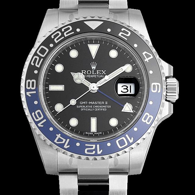 116710BLNR ロレックス GMTマスターII ブラック/Black
