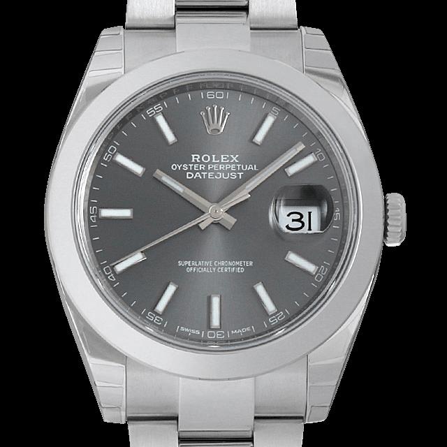 126300 ロレックス デイトジャスト41 グレー/Gray