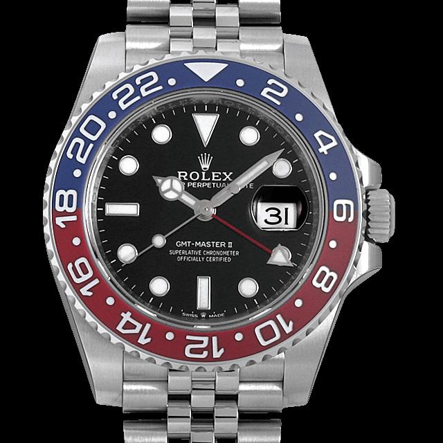 126710BLRO ロレックス GMTマスターII ブラック/Black