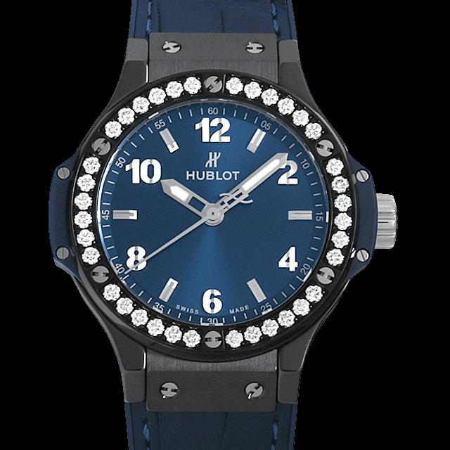 361.CM.7170.LR.1204 ウブロ ビッグバン セラミックブルー ダイヤモンド ブルー/Blue