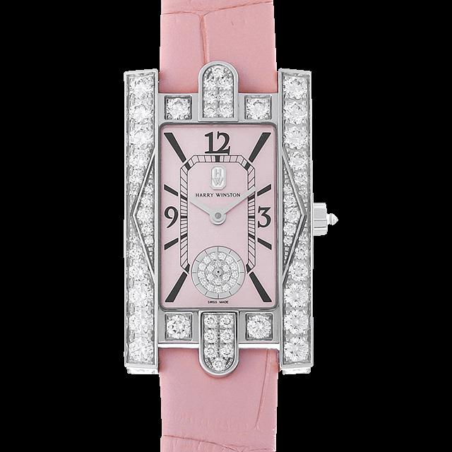 AVEQHM21WW289 ハリーウィンストン アヴェニュー クラシック ピンク ピンクシェル/Pink Shell