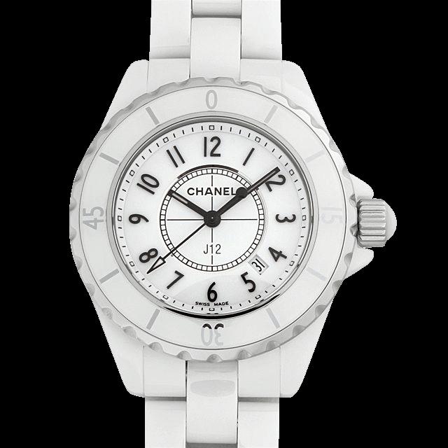 H0968 シャネル J12 白セラミック ホワイト/White