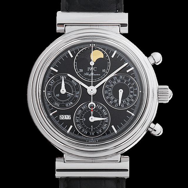 3750-30 IWC ダヴィンチ パーペチュアルカレンダー クロノグラフ ブラック/Black