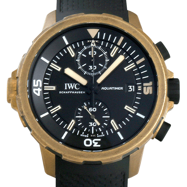 IW379503 IWC アクアタイマー クロノグラフ エクスペディション チャールズ・ダーウィン ブラック/Black